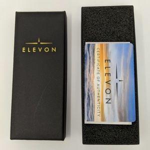 Elevon Accessories - ELEVON AVIATOR LEATHER-BAND WATCH W/DATE